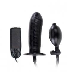 Titreşimli Şişebilen penis