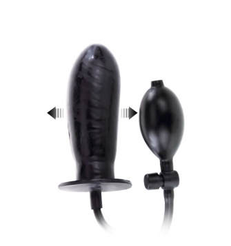 Pompa ile şişen Zenci Penis